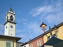 Church of San Lorenzo Martire - Campanile in Lazzate (MB) - Italy.JPG
