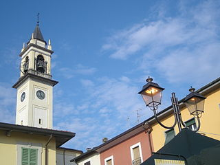 Church of San Lorenzo Martire - Campanile in Lazzate (MB) - Italy.JPG