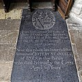 Church of St Mary Hatfield Broad Oak Essex England - Stanes ledger stone.jpg
