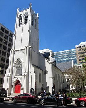 Church of the Epiphany (Washington, D.C.) - Image: Church of the Epiphany 3