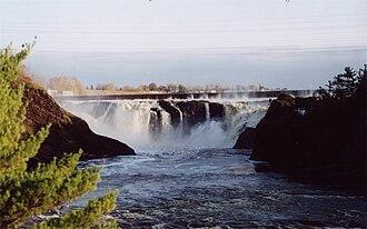 Chaudière River - Chutes-de-la-Chaudière