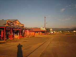 Cimarron NM downtown.JPG