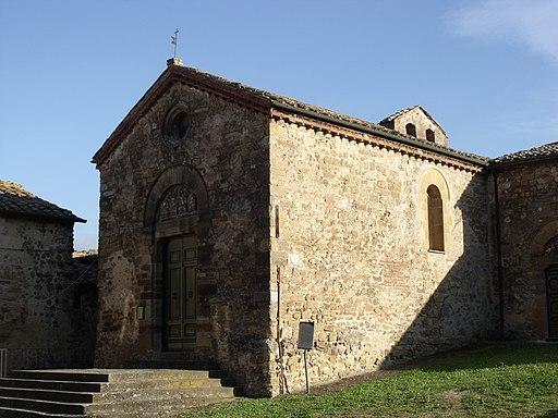 Chiesa di San Donato, Castel Porrona, hamlet of Cinigiano