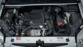 Ford DLD engine - PSA DV6B engine in a Citroen Berlingo