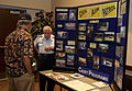 Civil Air Patrol recruiting table at Buckley Air Force Base, Colorado.jpg