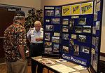 Civil Air Patrol recruiting table at Buckley Air Force Base, Colorado.jpg