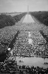 Civil rights march on Washington, D.C. from Lincoln.jpg