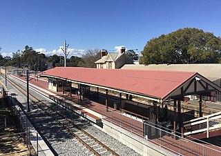 Claremont railway station, Perth Railway station in Perth, Western Australia