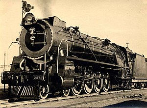 South African Class 15E 4-8-2 - Image: Class 15E 2879 (4 8 2)