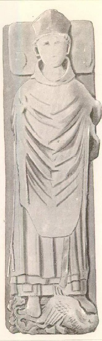 Clement of Dunblane - Effigy of bishop of Dunblane, identified as Clement
