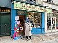 Click and collect en librairie, Librairie La Belle Lurette, Paris 2020.jpg