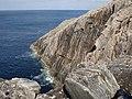 Cliffs at Rubh' an Tiompain - geograph.org.uk - 773322.jpg