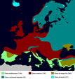 Clima de Europa - Mapa tipo Köppen.png