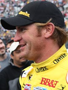 Clint Bowyer at Texas Motor Speedway in 2010