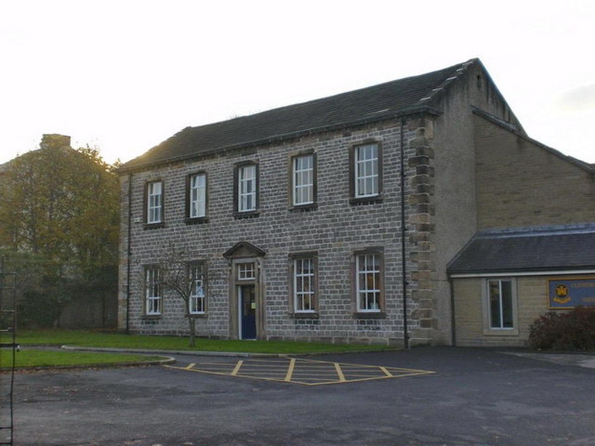 Clitheroe Royal Grammar School, Original building - geograph.org.uk - 1552955.jpg