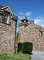 Clock tower at Irton Hall - geograph.org.uk - 838840.jpg