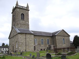 Bishop of Clogher - The Cathedral Church of Saint Macartan, Clogher, the episcopal seat of the pre-Reformation and Church of Ireland bishops.
