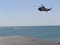 Coastguard helipcopter at Milford on Sea - geograph.org.uk - 206696.jpg