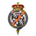 Coat of arms of John Winston Spencer-Churchill, 7th Duke of Marlborough, KG, PC.png