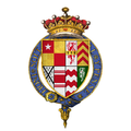 Coat of arms of Sir John de Vere, 15th Earl of Oxford, KG.png