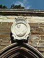 Coat of arms on the Ailesbury mausoleum at St Mary's Church in Maulden, Bedfordshire.jpg