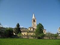 Coazze - Chiesa di Santa Maria del Pino laterale.jpg