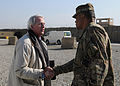 Col. Goins welcomes U.S. ambassador to NATO to FOB Salerno DVIDS510115.jpg