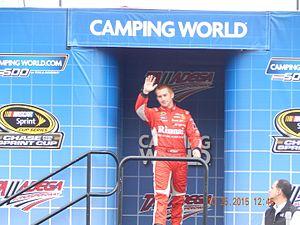 Cole Whitt - Whitt prior to the 2015 CampingWorld.com 500 at Talladega