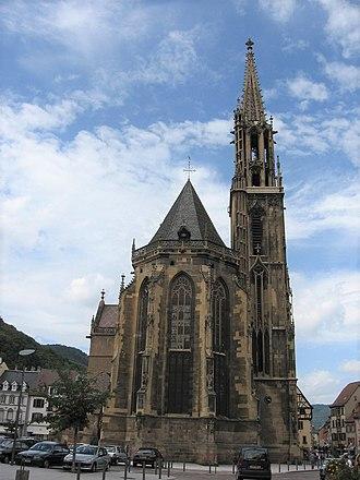 St Theobald's Church, Thann - Image: Collégiale Saint Thiébaut de Thann