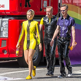 Latex clothing Clothing made of latex rubber