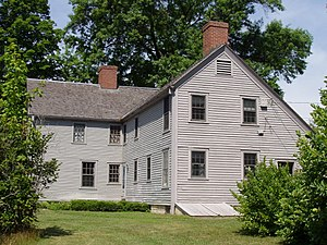 Colonel John Ashley House - Image: Colonel John Ashley House (Sheffield, MA)
