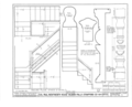 Colonel Paul Wentworth House, Dover Street (moved to MA, Dover), Dover, Strafford County, NH HABS NH,9-SALFA,1- (sheet 6 of 41).png