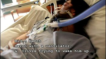 English: Man in coma still not responding to s...