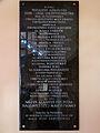 Commemorative plaques of Saint Michael Archangel church in Puszcza Mariańska (brick church) - 02.jpg