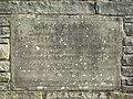 Commemorative stone, Brocklehurst Memorial Gardens. - geograph.org.uk - 2112885.jpg