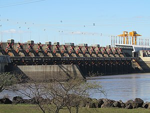 Environmental issues in Uruguay - Salto Grande Dam