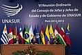 Conclusiones de la VI Reunión Ordinaria del Consejo de Jefas y Jefes de Estado y de Gobierno de UNASUR, Perú 2012-2013 (8233434136).jpg