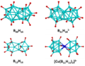Condensed polyhedral boranes and metallaborane.png