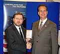 Congressman Mario Díaz-Balart awarded the Hero of Taxpayer Award by Americans for Tax Reform.jpg