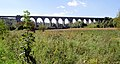 Conisbrough viaduct from the Trans Pennine Trail - geograph.org.uk - 557312.jpg