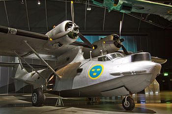 English: TP47 Catalina Aircraft on display at ...