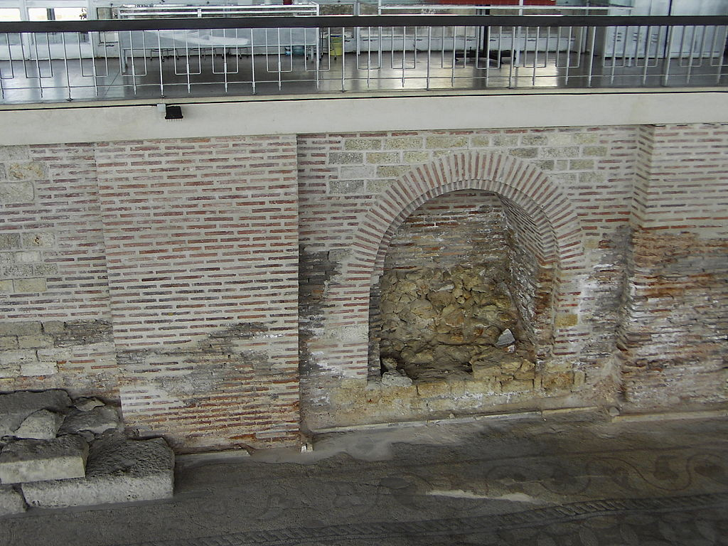 Constanţa - Roman mosaic - stena