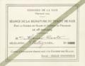 Convite para a sessão de assinatura do Tratado de Versalhes, 1919 (em nome de Alzira Costa).png
