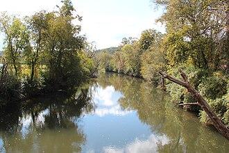 Coosawattee River - Coosawattee River in Ellijay, Georgia