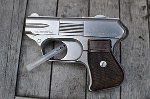 Ancillary weapon - The compact COP .357 can be easily concealed, making it suitable for use as a police back-up gun.