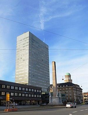 Liberty Column, Copenhagen - The Liberty Column