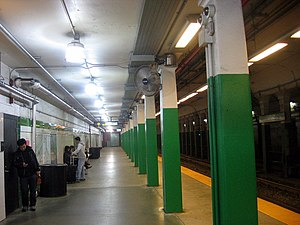 Copley (MBTA station) - Outbound platform