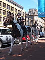 Coppers on Horses , George Square , Glasgow. (7755237884).jpg