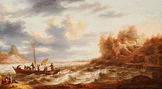 Seascape with the Calling of Saint Peter