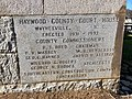 Cornerstone, Haywood County Courthouse, Waynesville, NC (39750786443).jpg